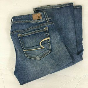 American Eagle Womens Kick Boot Jeans Size 4